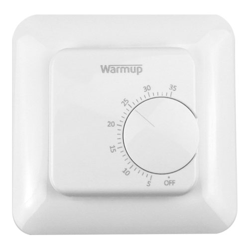 manual mstat analogue central underfloor thermostat